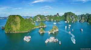Over view Halong Bay