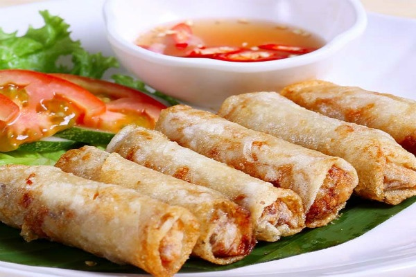 Hanoi fried spring roll
