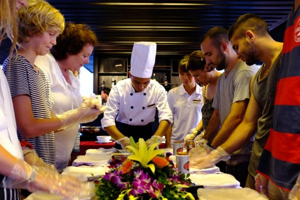 Cooking Class on Cruise